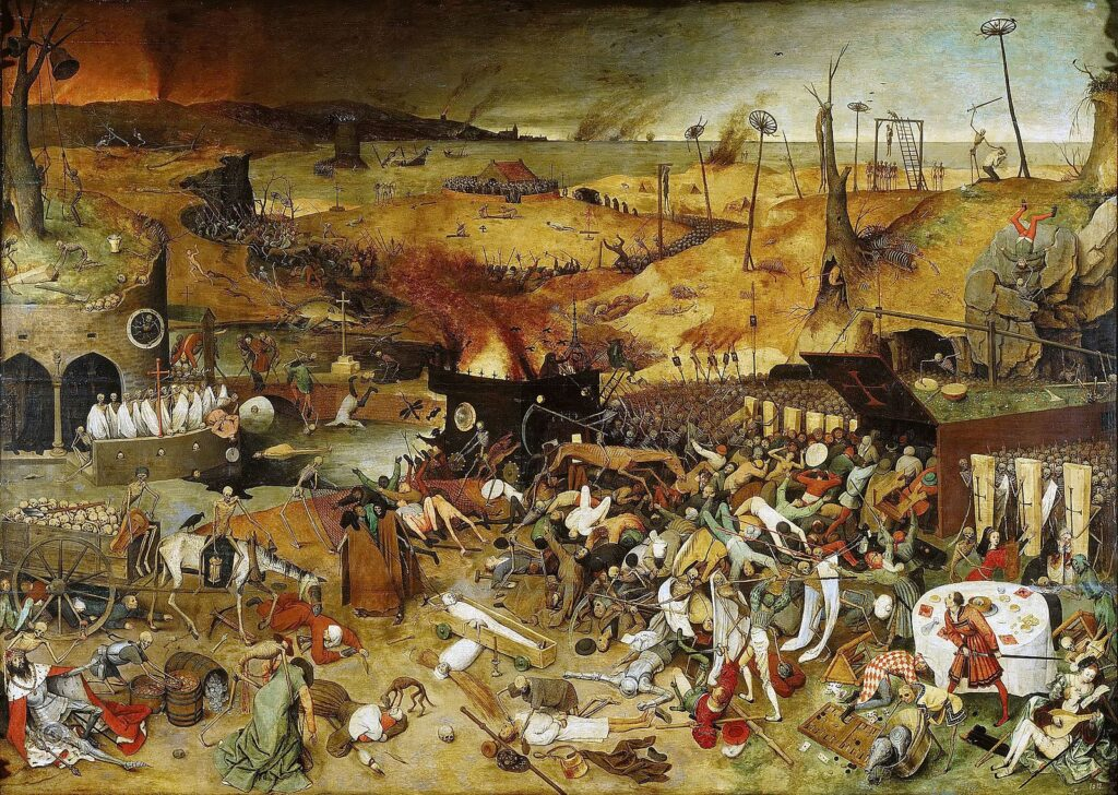 By Pieter Bruegel Starszy - Museo del Prado